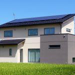 太陽光発電のあるエコ住宅