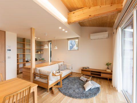 高台から金沢が一望できる見晴らしの良い家